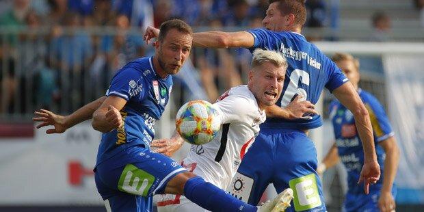 Nur 2:2! Austria auch gegen Hartberg ohne Sieg