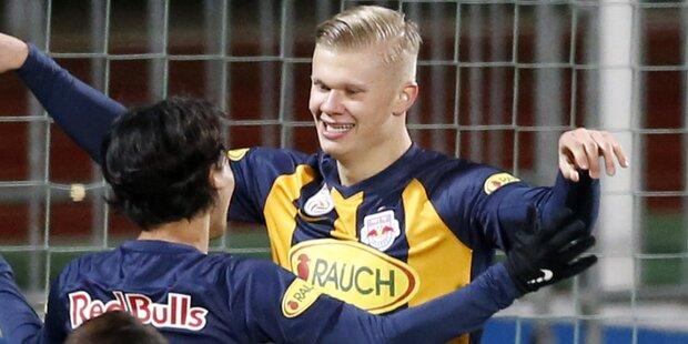 Haaland schießt Salzburg zum Sieg