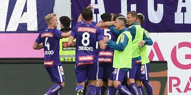 2:0 - Die Austria kann wieder siegen!