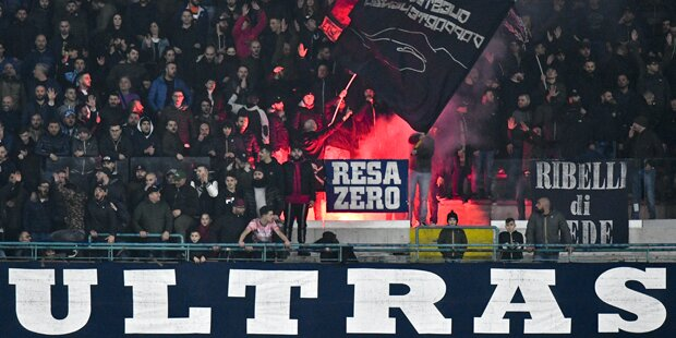 Salzburg rüstet sich für Napoli-Ultras