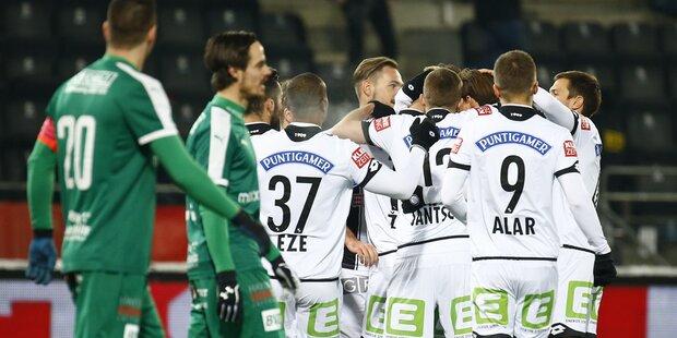 Sturm mit Pflichtsieg im Cup-Halbfinale