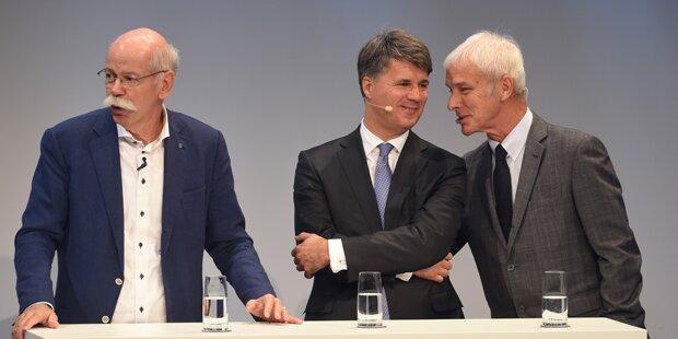 Kartellverdacht gegen deutsche Auto-Riesen