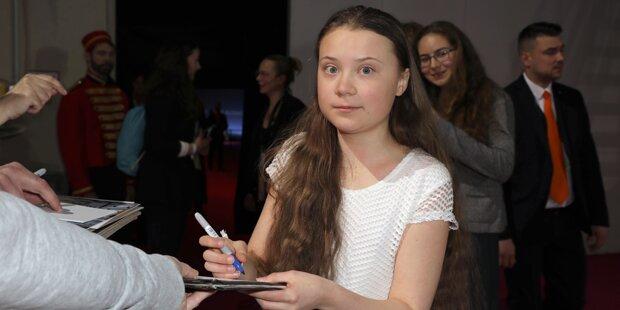 Greta Thunberg trifft am Mittwoch Papst Franziskus