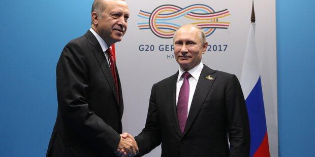 Erdogan und Putin schließen Mega-Waffendeal