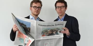 Frederik Obermaier und Bastian Obermayer