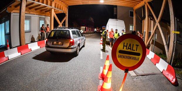 Ab heute Grenzkontrollen bei Einreise nach Österreich