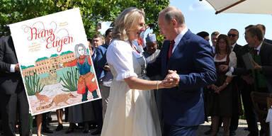 Putin bewirbt Kneissl-Buch: Ex-Ministerin wehrt sich gegen Vorwürfe
