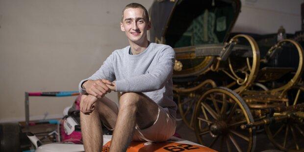 Habsburg modelt für 'Vanity Fair'