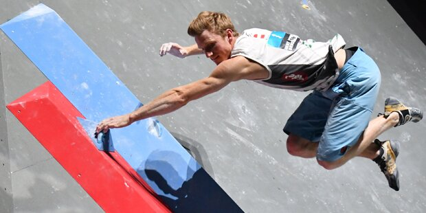 Klettern: Schubert holte mit Silber seine erste Boulder-WM-Medaille