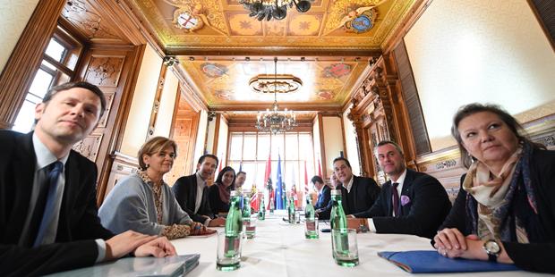 Koalitionsverhandlungen ÖVP FPÖ