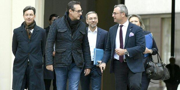 Blaue Kämpfe: Wie Strache die FPÖ spaltet