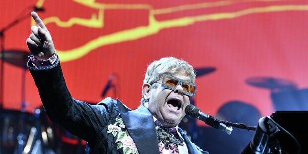 Elton John: Umjubelter Tourstart in Wien