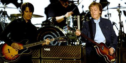 VdB rockte mit McCartney