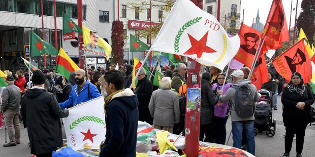 Kurden Demo Wien
