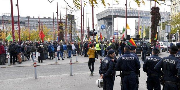 Tausende bei Kurden-Demo in Wien