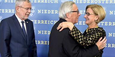 Van der Bellen Juncker Mikl-Leitner