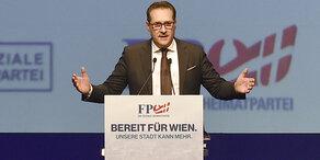 Strache wieder zu FPÖ-Parteiobmann gewählt