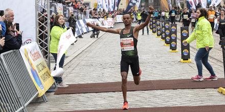 Marathon: Kesete siegte in Linz - Kipruto Achter