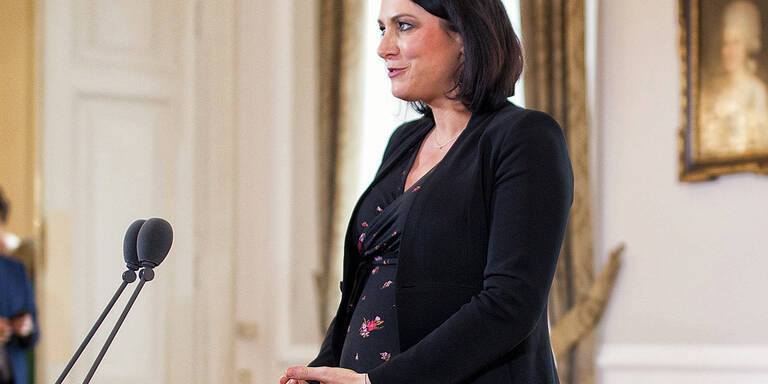 Elisabeth Köstinger im MADONNA-Talk