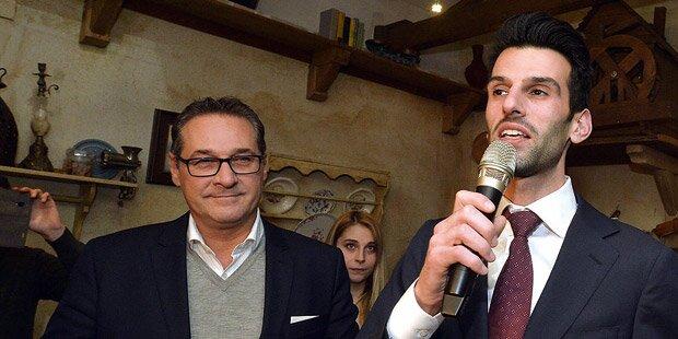 Strache kündigt Rückkehr von Udo Landbauer an