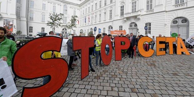 Zweites Volksbegehren will CETA stoppen