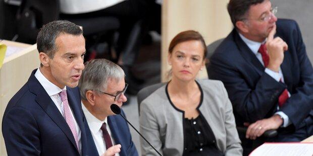 Kerns Miet-Offensive von ÖVP abgeschmettert