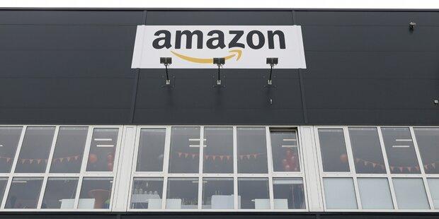 Erster Blick auf Amazon-Verteilzentrum in Österreich