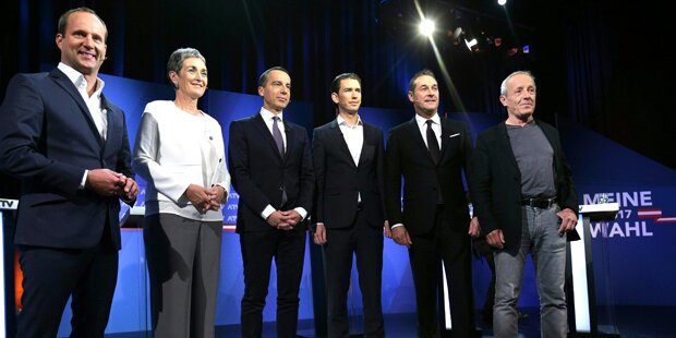 Migration, Steuern, Koalitionen dominieren im TV