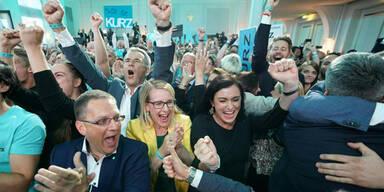 ÖVP weit vorne, FPÖ-Absturz