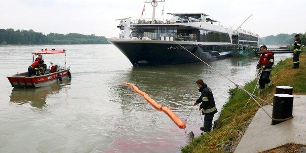 40 Kilometer langer Ölteppich auf Donau