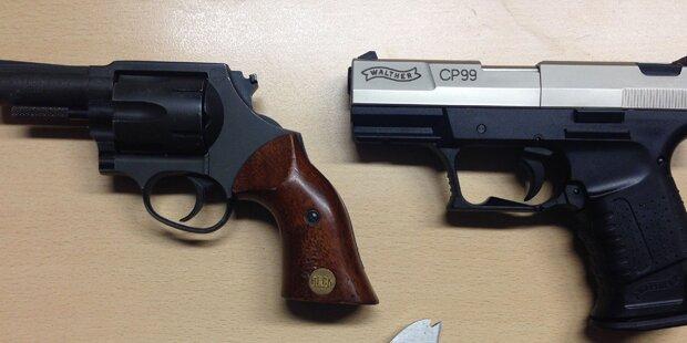 61-Jähriger bedroht spielende Kinder mit Waffe