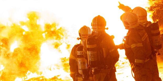 7 Brände gelegt: Floriani als Feuerteufel