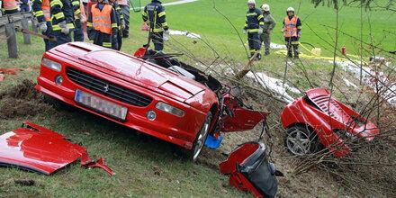 Ferrari geteilt: Toter war bekannter Bison-Züchter