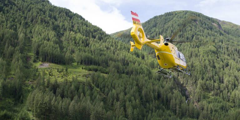 150-Meter-Sturz: Skitourengeher schwer verletzt