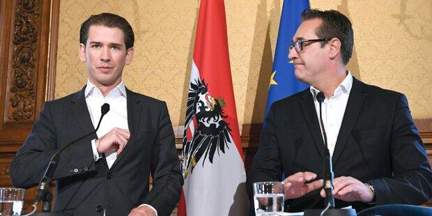 ÖVP und FPÖ bei Thema Sicherheit fast fertig