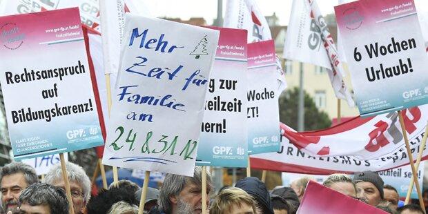 Handels-KV: Keine Einigung, Aktionen ab 8. Dezember