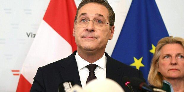 Strache: Morgen Geheimtreffen mit Hofer zu EU-Mandat