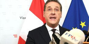 EU-Wahl: Strache steht noch auf FP-Wahlliste