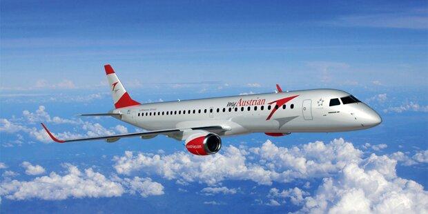 Bericht zeigt: AUA-Jet stürzte fast auf Salzburg