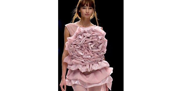 Die Königin der Blumen erobert die Mode