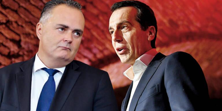 oe24-Talk mit Kern: Aufregung in der SPÖ