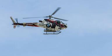 Alpinpolizei Hubschrauber
