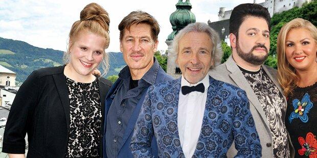 Heute startet Salzburg der Stars