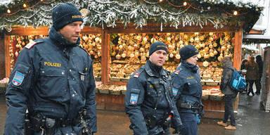 Polizei Christkindlmarkt