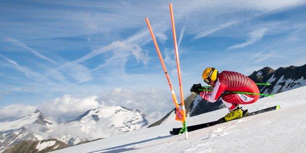 Max Franz nach Fersenbeinbruch wieder schmerzfrei auf Schnee