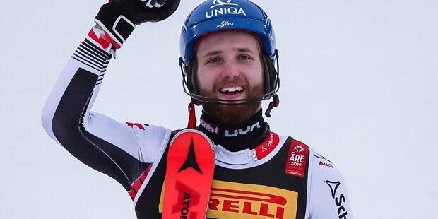 Marco Schwarz als Medaillen-Hamster der WM