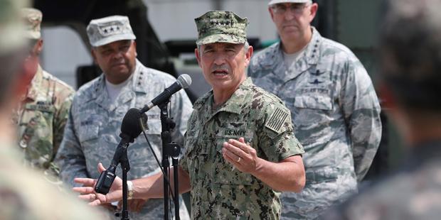John Hyten, Kommandant des Strategic Command