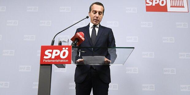 SPÖ: Kern geht in die Opposition