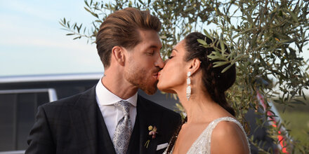 Mega-Hochzeit: Sergio Ramos gab seiner Pilar das Ja-Wort