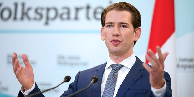 Kurz will Koalitionsgespräche mit Grünen